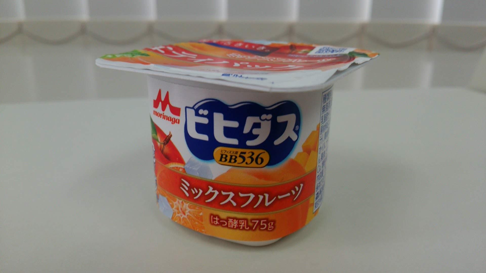 森永『ビヒダスヨーグルトバラエティセット・フルーツミックス』