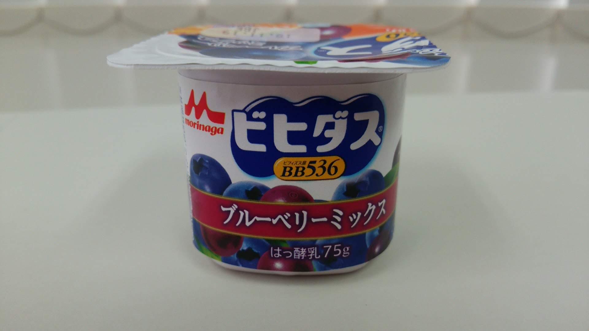 森永『バラエティセット4ポット・ブルーベリーミックス』