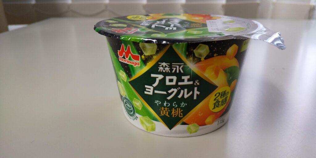 森永アロエ&ヨーグルト黄桃