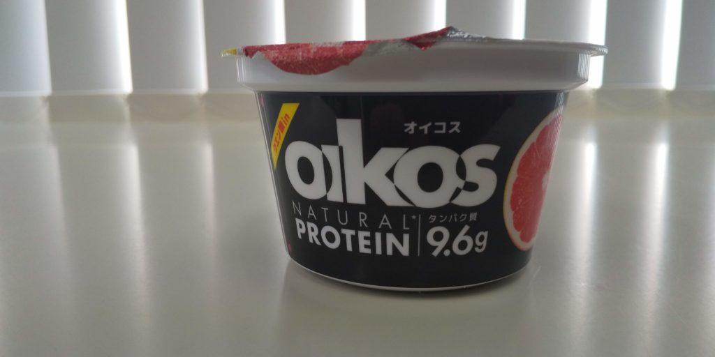 ダノンオイコス・ピンクグレープフルーツ「プロテイン9.6g」の画像