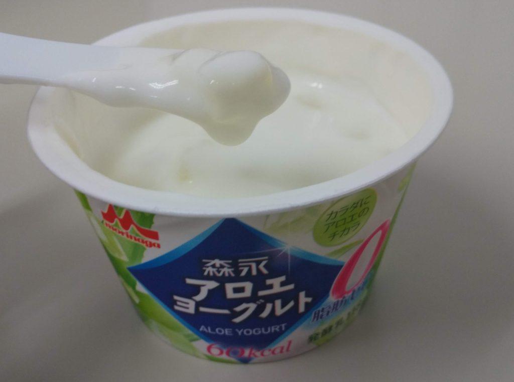 森永アロエヨーグルト脂肪ゼロのレビュー