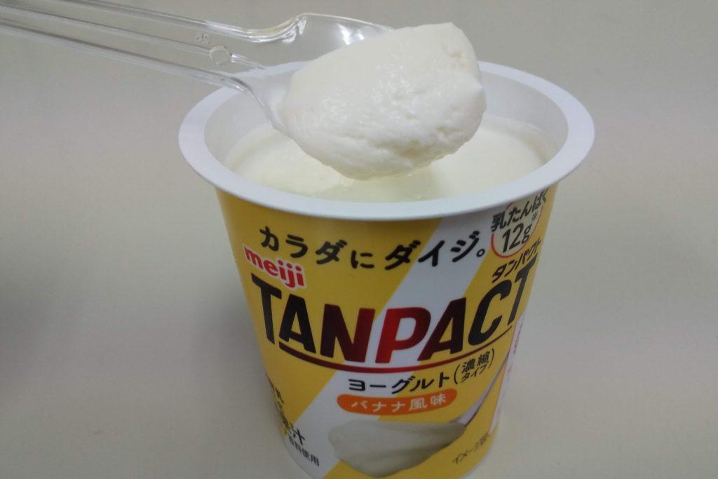 【明治】タンパクトヨーグルトバナナ風味