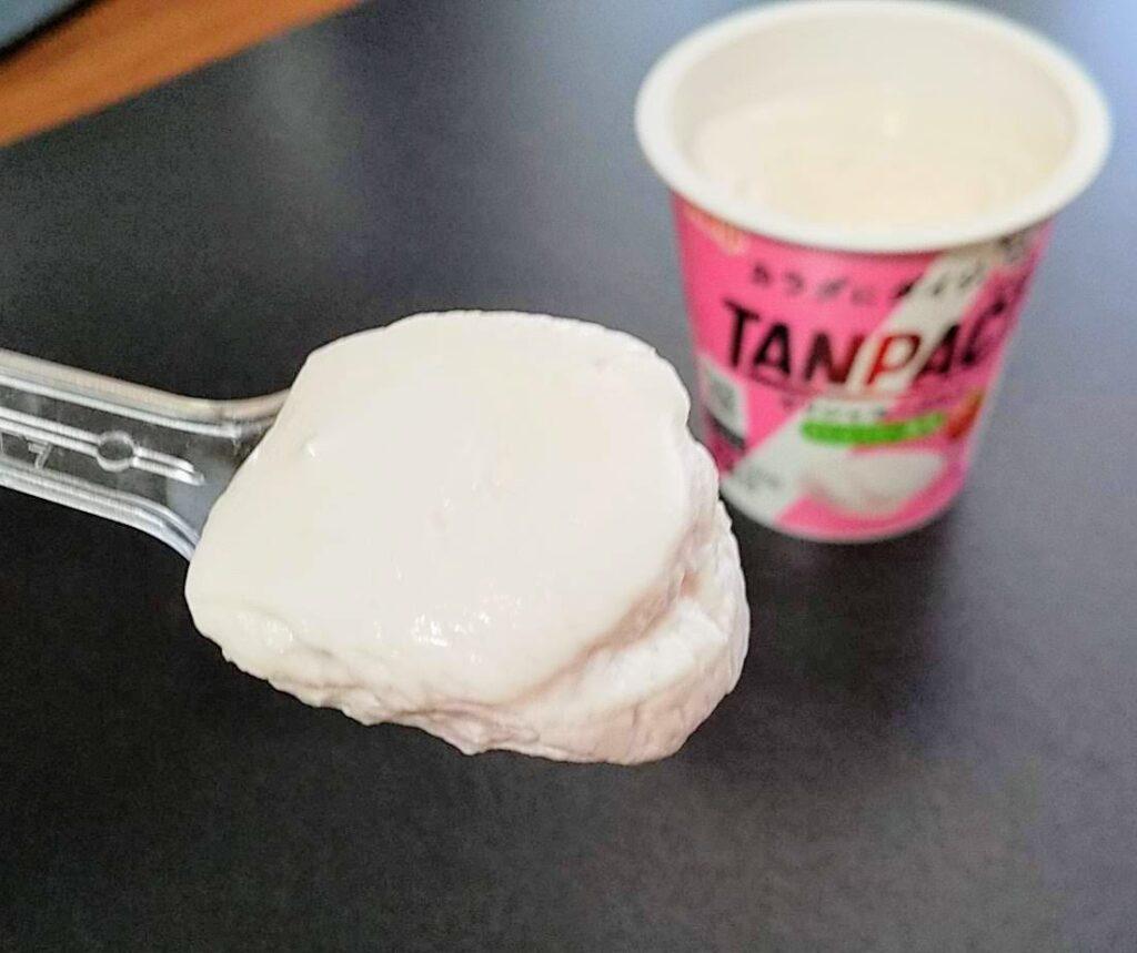 タンパクトギリシャヨーグルトストロベリー風味のレビュー
