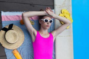 美肌のために紫外線対策