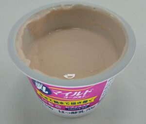 乳マイルドヨーグルトいちご