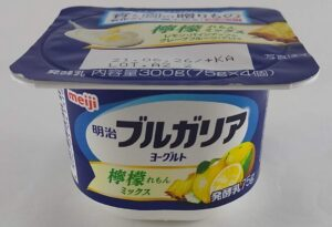 明治ブルガリアヨーグルト檸檬ミックス
