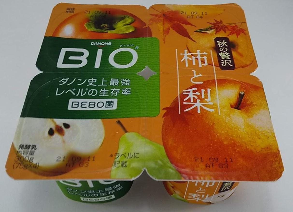ダノンBioビオ柿と梨